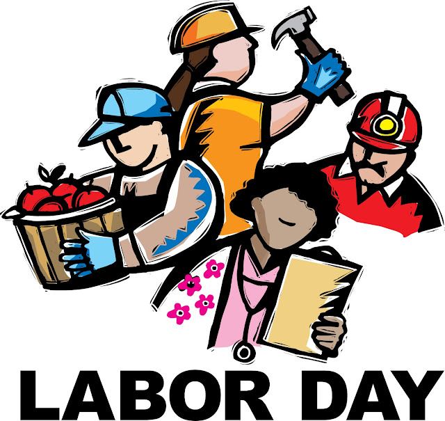 Happy labor day clipart 2017