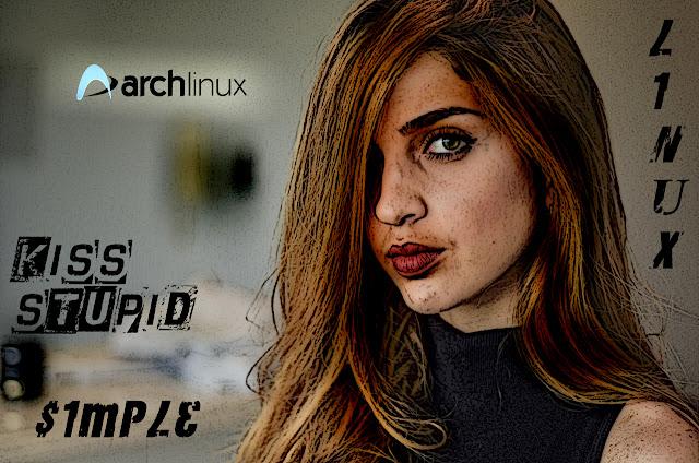ArchLinux Wallpaper  eyes girl