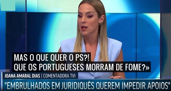 «Temos tido não a lei travão mas a lei ladrão» Joana Amaral