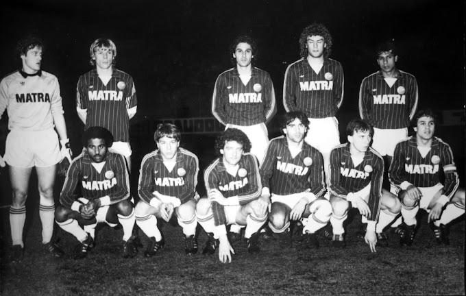 R.C PARIS 1984-85.