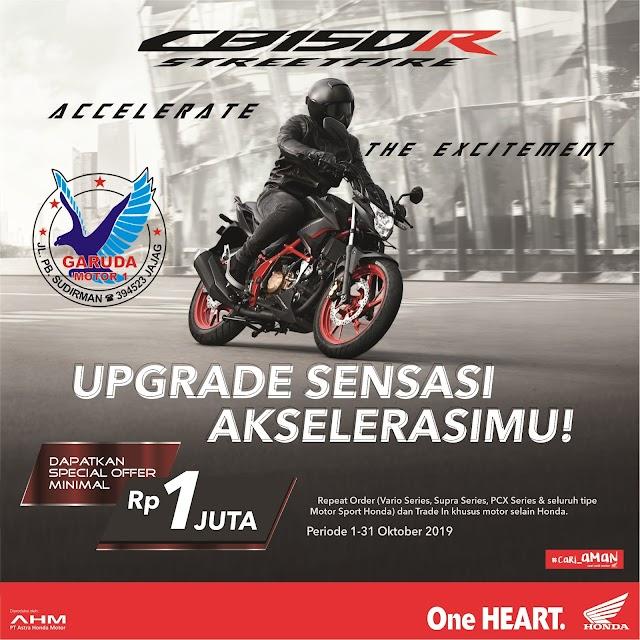 Program Promo Sepeda Motor Honda Banyuwangi Oktober 2019