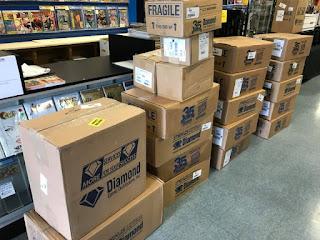 Dimaond Comics Boxes