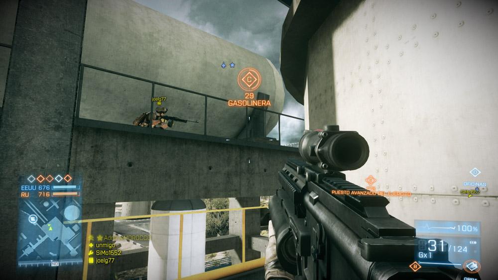 Videojuegos Accesibles: Battlefield 3 ya incluye modo para