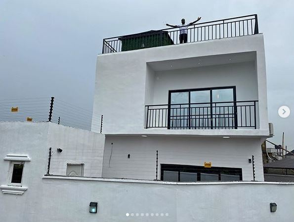 Too Much Money! Nigerian Singer, Skiibii Acquires A New House For His Birthday (Photos) #Arewapublisize