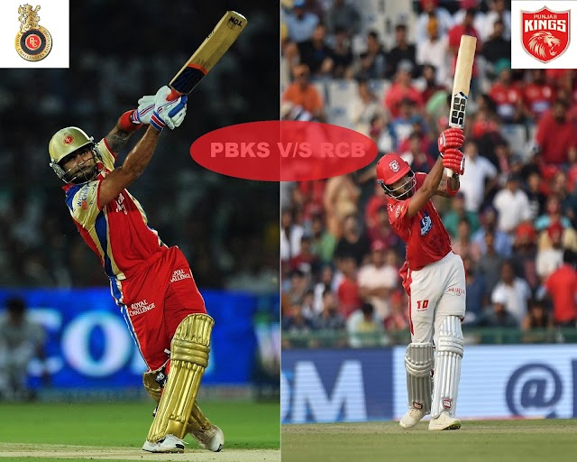 PBKS vs RCB All Match Result || Head to Head Record In IPL