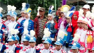 SDN-21 Kota Bima Ikut Lomba Marching-Band tingkat Provinsi NTB