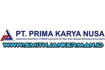 Lowongan PT. Prima Karya Nusa Pekanbaru April 2018
