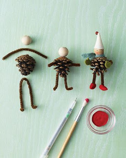 Needles-n-Pins Stitcheries: Pine Cone Ornament Tutorial