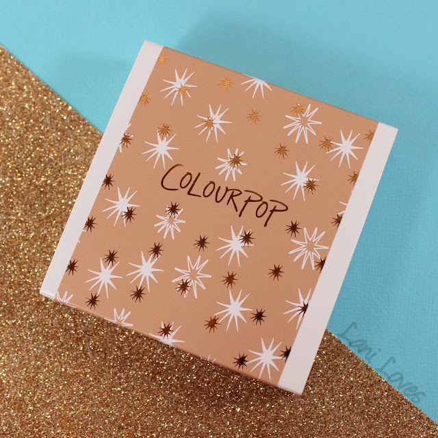 ColourPop All Nighter Quad Swatches & Review