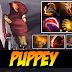 Puppey jugando con Bounty Hunter y Pugna