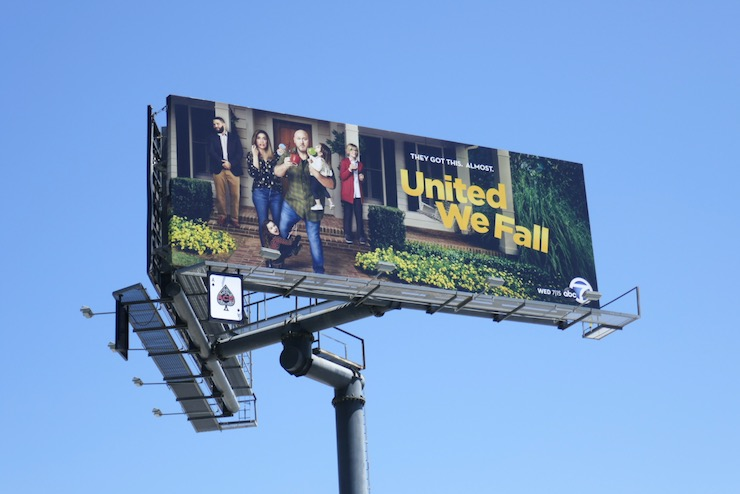 United We Fall season 1 billboard
