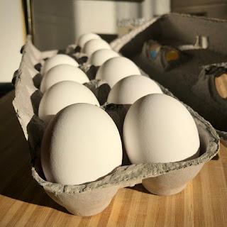 eggs in cardboard carton