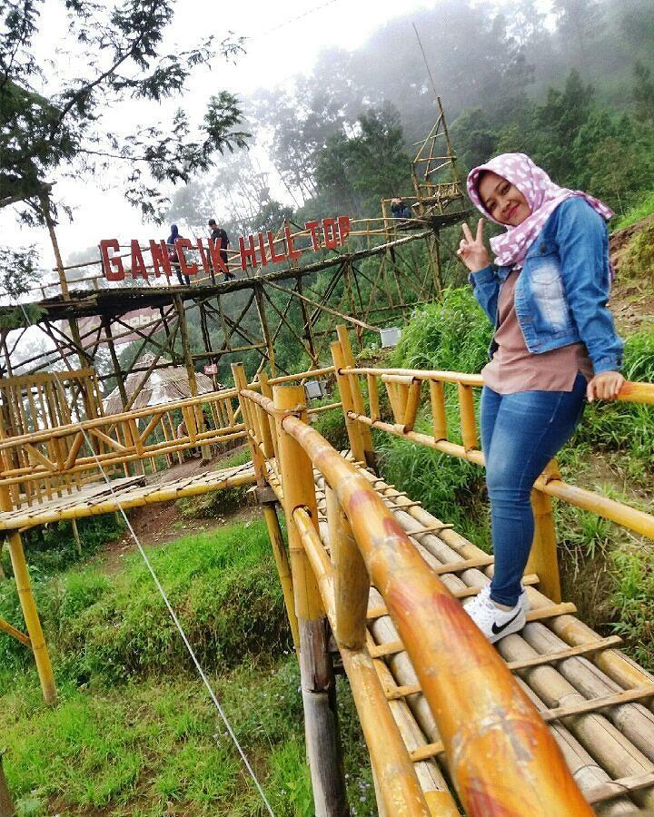 Panorama Keindahan Wisata Bukit Gancik Selo Boyolali
