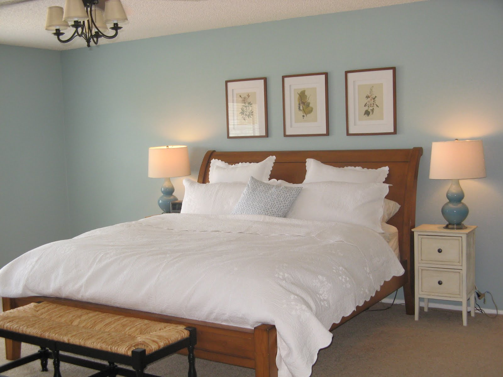 Benjamin Moore Seafoam Blue Living Room | Car Interior Design