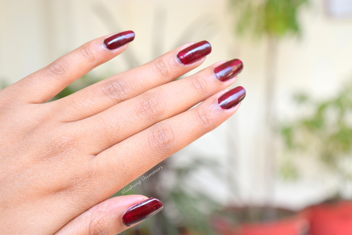 Colorbar Luxe Nail Lacquer-Vamp