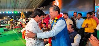 वैश्य महासम्मेलन प्रदेश महामंत्री रमेश चंद्र गुप्ता का पुष्प माला पहनाकर किया गया स्वागत