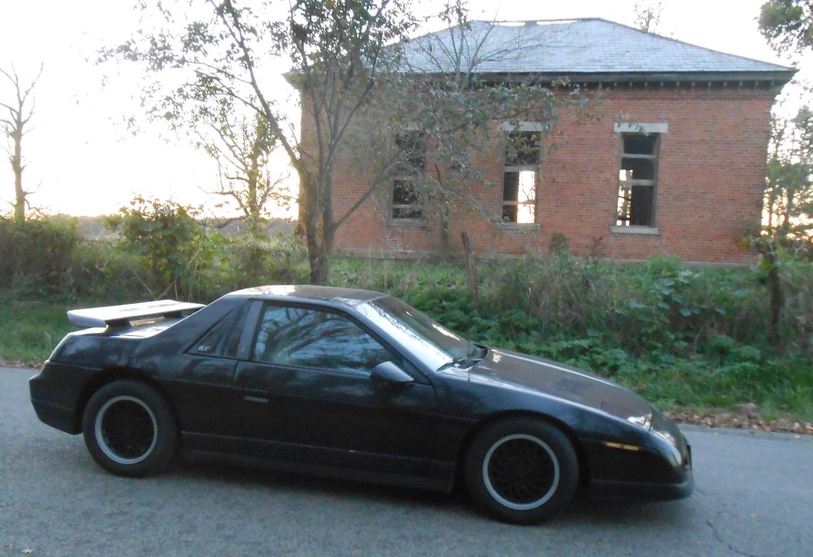 Electric Fiero Rebuild Pontiac Drawings The Ev