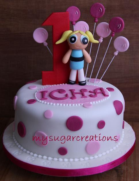 My Sugar Creations 001943746 M Powerpuff Girl Birthday Cake