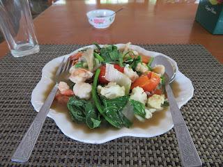 ミャンマーの野菜炒め