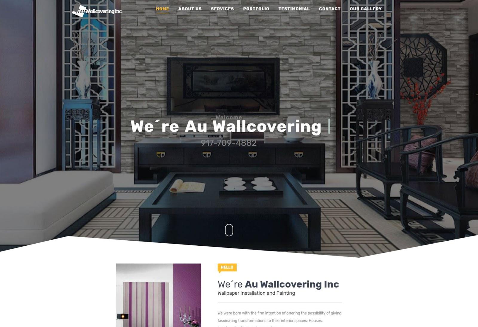 Au Wallcovering