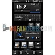 NS Calendar Widget 1 0 - Nokia N8 - Belle Refresh - Free Widget Download