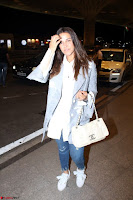 Neha Dhupia in Shirt Denim Spotted at Airport IMG 3523.JPG