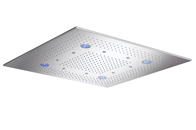 chuveiro com iluminação LED