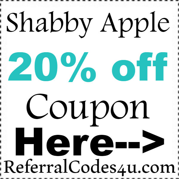 Shabby Apple Discount Code 2016-2017, Shabby Apple Coupons Free Shipping November, December, January