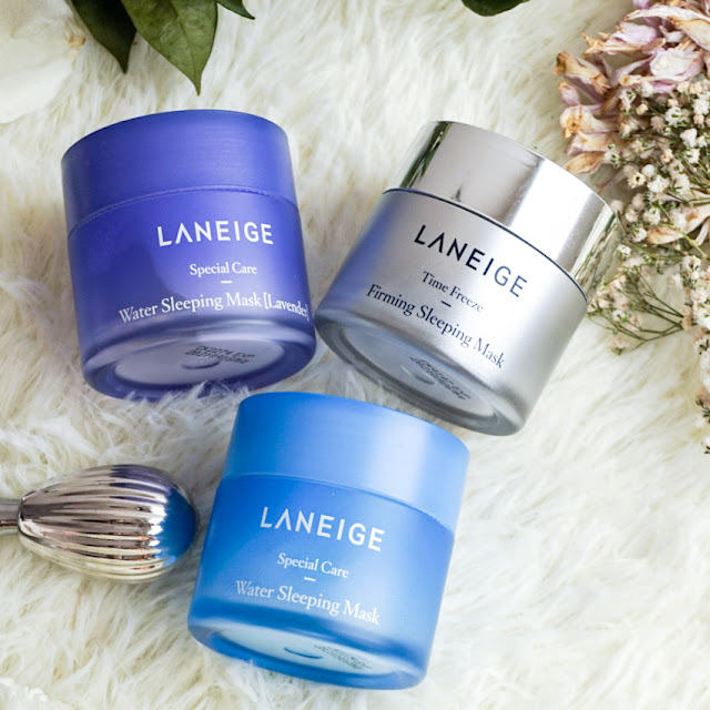 Laneige Water Sleeping Masks Review Malaysia