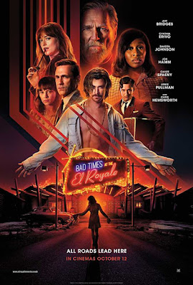 Poster Bad Times at the El Royale 2018 Dual Audio HD 720p