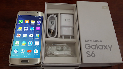 Mua Galaxy S6 cu chinh hang