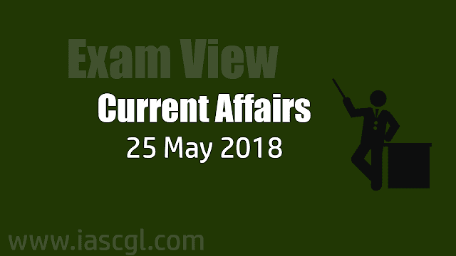 Current Affair 25 May 2018