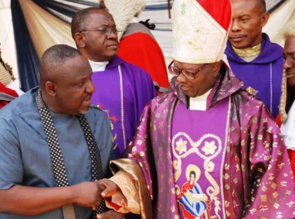 nigerian catholic priest opened fire assistant
