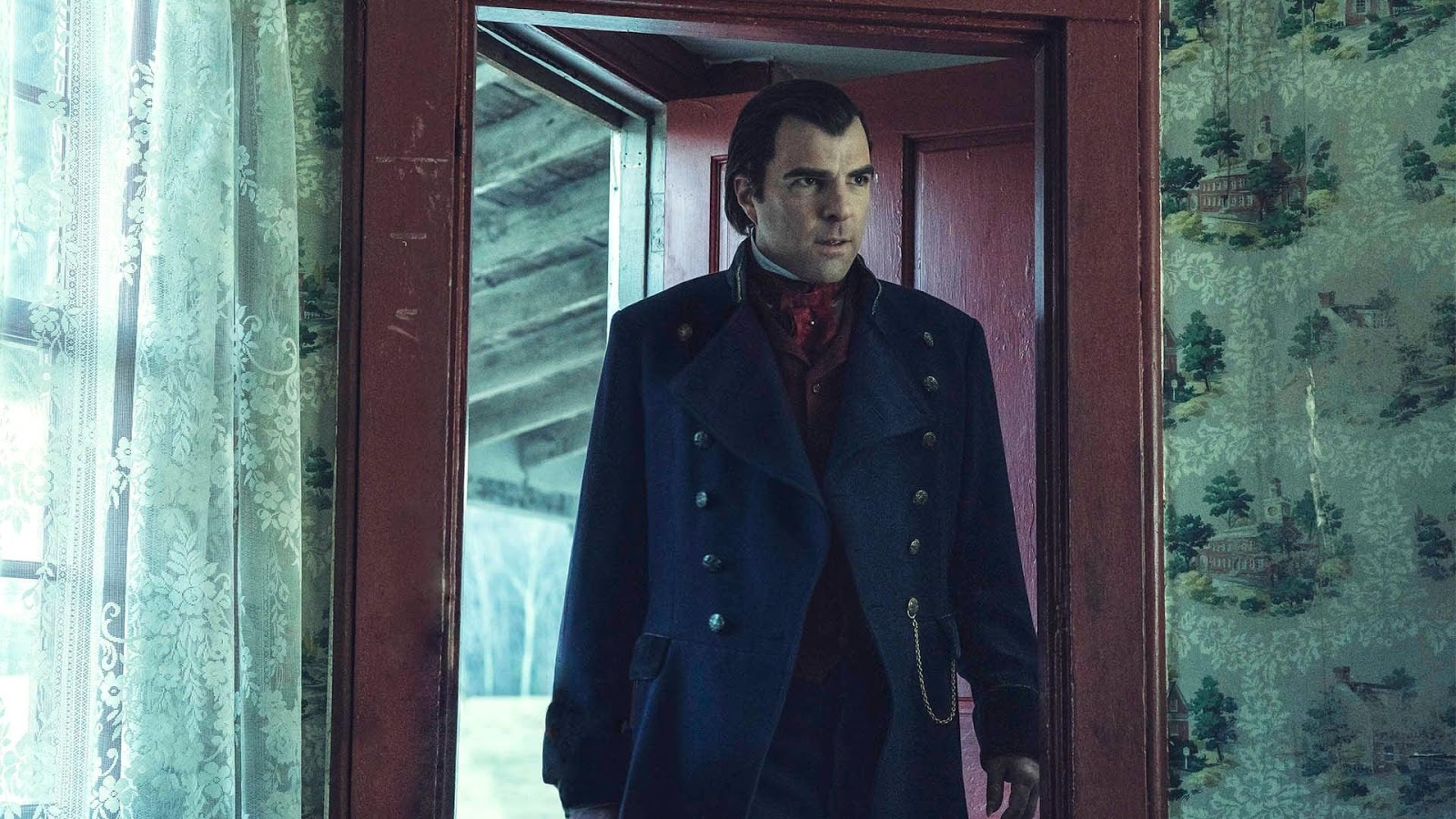 AMC NOS4A2 |Sleigh House review | Zachary Quinto is Charlie Manx