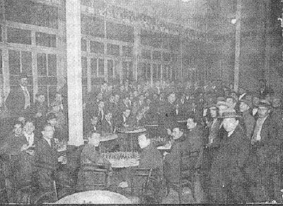 Sede del Club Ajedrez Barcelona en el Café Condal en 1922