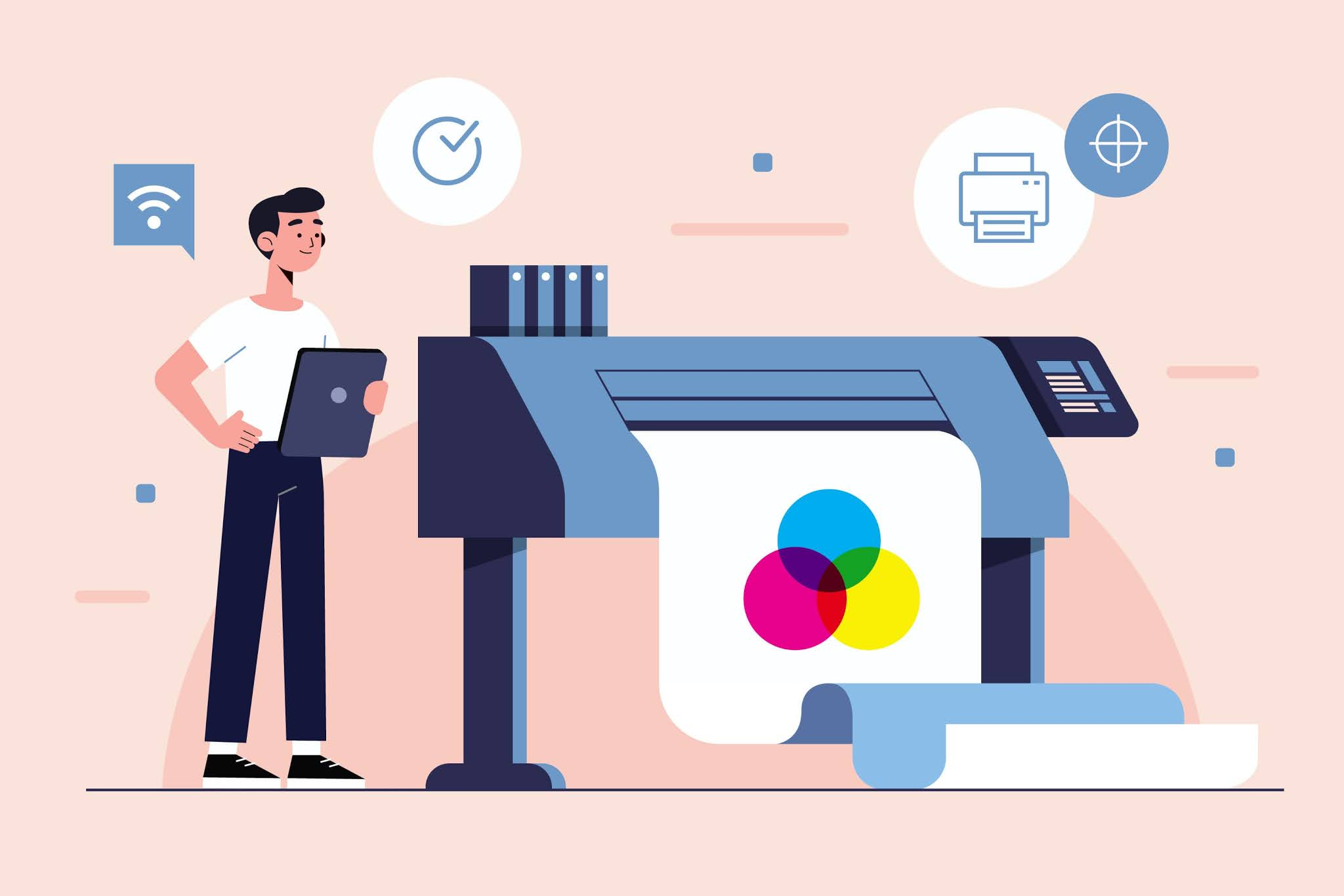 Jasa printing (Percetakan)