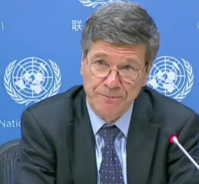 Professor Jeffrey Sachs
