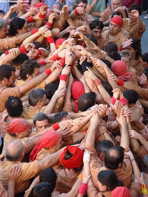 Castellers a Reus