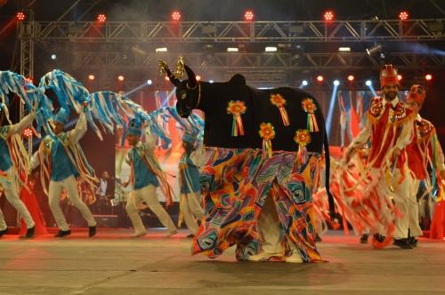 Maior Festival do Folclore do país começa neste sábado (03) em Olímpia
