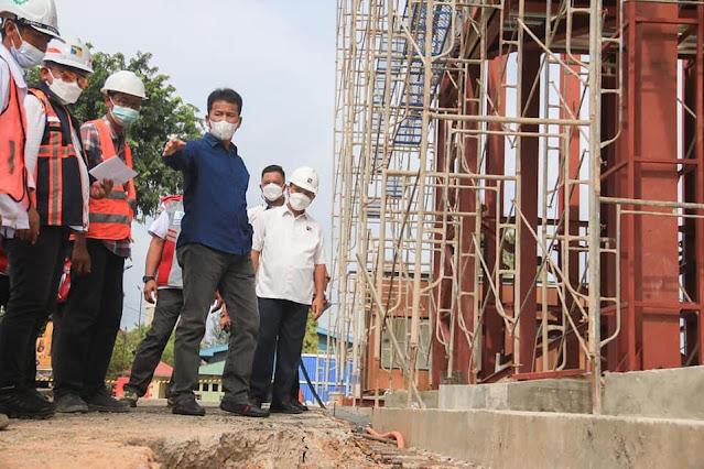 Pembangunan Autogate Pelabuhan Batu Ampar Ditargetkan Selesai Akhir Bulan Ini