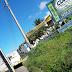 Acidente deixa trânsito na Felizardo Moura parcialmente bloqueado,sentido Urbana.