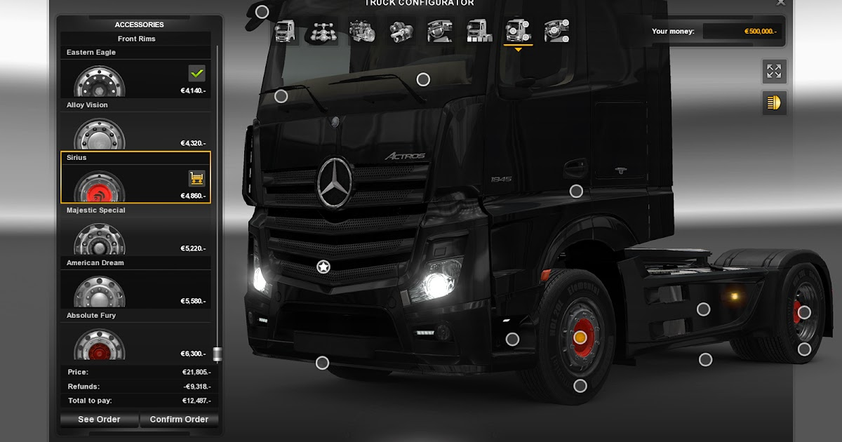 SCS Software's blog: Rims and Tyres Upgrade