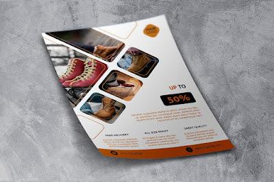 Contoh brosur produk barang