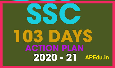 103 DAYS ACTION PLAN FOR SSC STUDENTS - 2020-2021