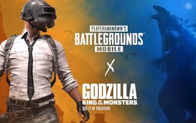 """Godzilla kết hợp cùng PUBG trên di động là việc kết hợp """"đôi bên với có lợi"""""""