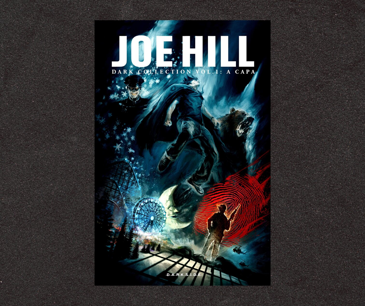 Resenha: Joe Hill Dark Collection v. 1: A Capa, de Joe Hill, Jason Ciaramella, Zach Howard e Nelson Dániel