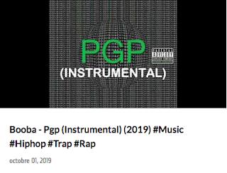 Booba Pgp instrumental