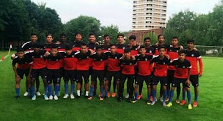 India U16 exposure tour Germany