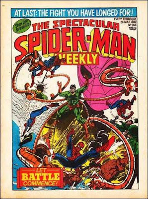 spectacular spider-man weekly #368, dr octopus