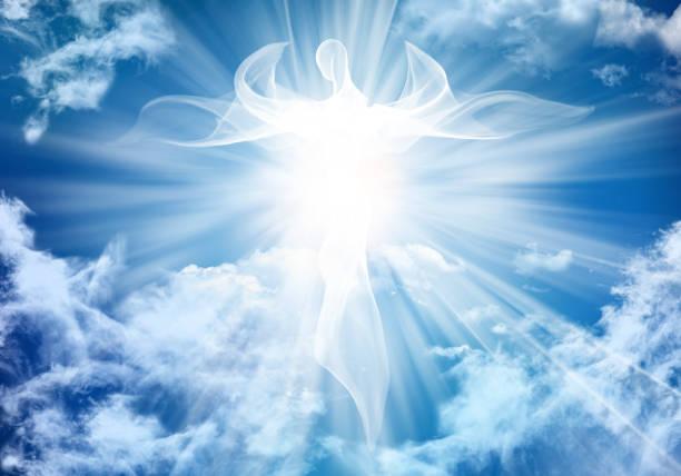 Angel, Sky, White